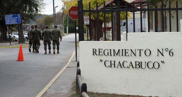 Fiscal militar confirma tercer soldado involucrado en robo de fusiles en Regimiento Chacabuco