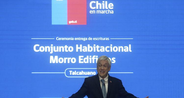 Sebastián Piñera visita la región del Bío Bío con agenda centrada en inversión de proyectos locales