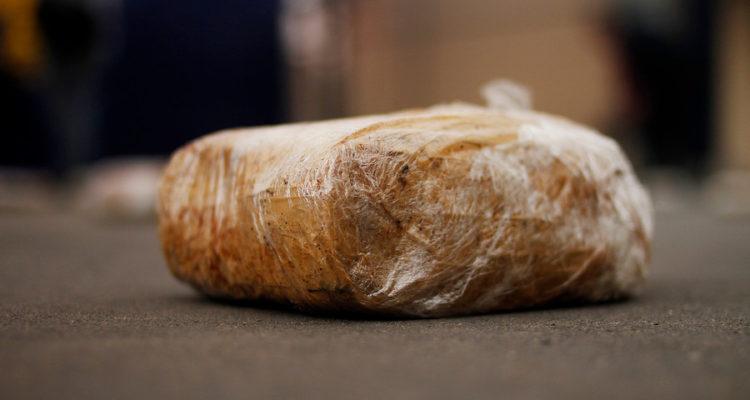 Carabineros decomisa más de 15 kilos de pasta base de cocaína en los cerros de Talcahuano