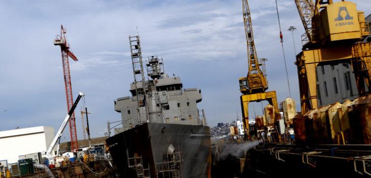 Armada descarta nuevamente tener interés en construir tercer dique de Asmar en Talcahuano