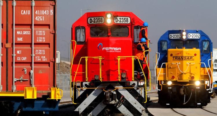 Joven queda en riesgo vital tras ser atropellado por un tren de carga en Talcahuano