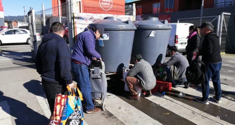 Essbio logró reparar falla que dejó sin agua a 80 mil personas en Chiguayante durante fin de semana
