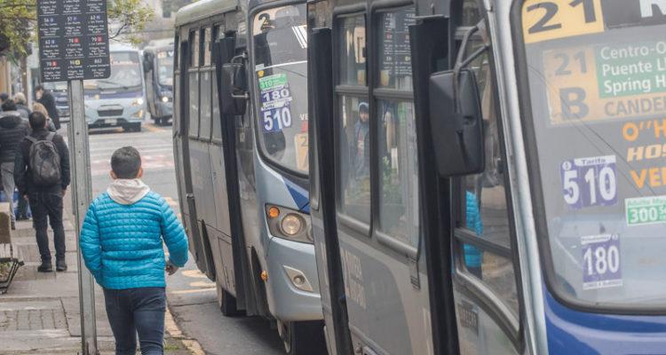 Tarifa de microbuses del Gran Concepción aumentará en $10 este martes