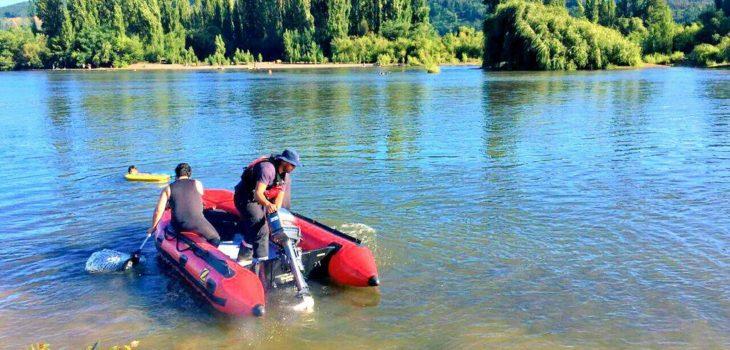 Bomberos de Hualqui no continuarán con labores de búsqueda de joven desaparecido en el río Bío Bío