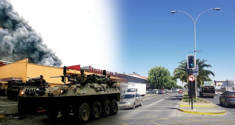 Las icónicas fotos post 27F en Concepción y los ecos de una tragedia que todavía resuenan