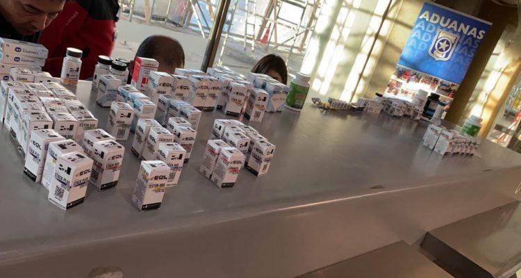 Interceptan contrabando de 107 frascos de anabólicos en Aeropuerto Carriel Sur de Talcahuano