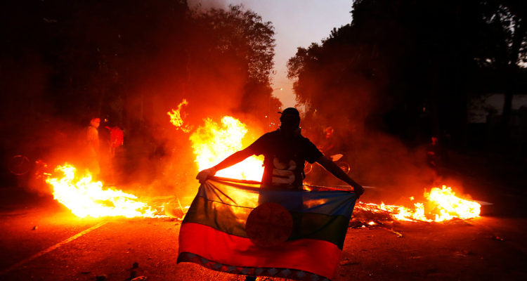 Graves disturbios marcan inicio de marzo en las principales ciudades del país