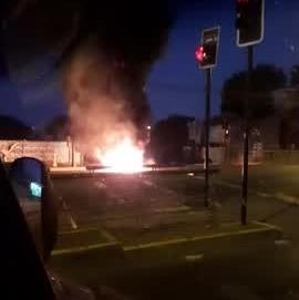 Manifestantes levantaron barricadas en distintos puntos de Concepción