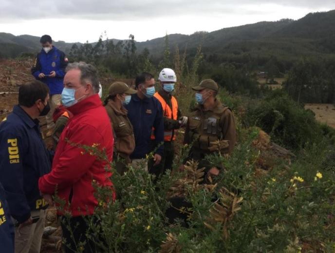 Niño de Arauco cumplió más de un día desaparecido y búsqueda nocturna no tuvo resultados positivos