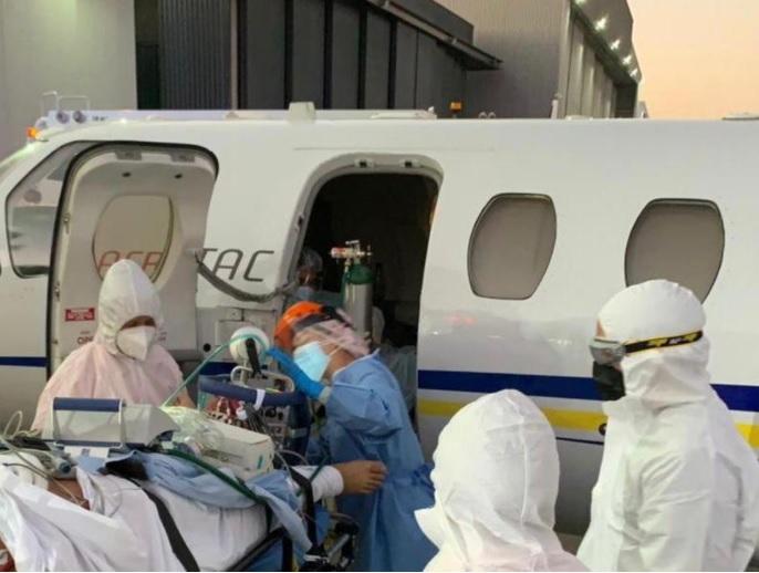 Equipo del Hospital Regional de Concepción concretó traslado de paciente covid grave con equipo Ecmo