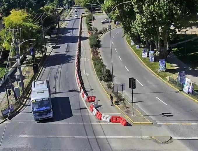 Flujo vehicular en el Gran Concepción se redujo más de un 50% durante el fin de semana
