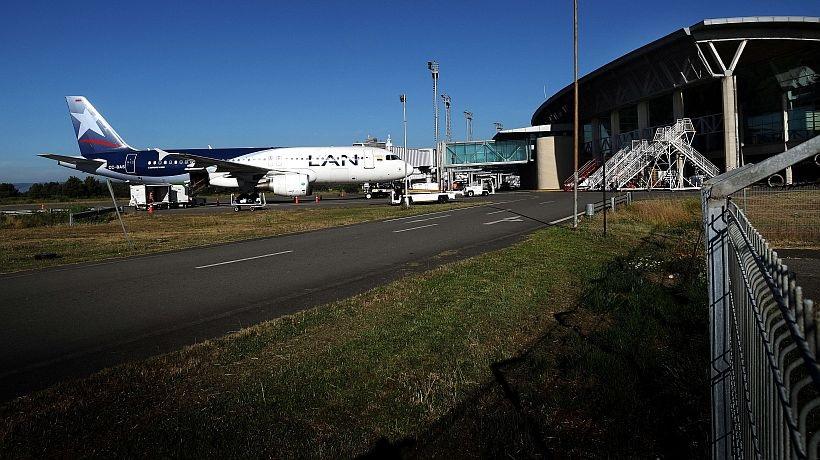 LATAM reactiva la ruta Concepción-Punta Arenas